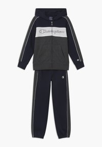 Champion - LEGACY HOODED FULL ZIP SUIT SET - Tracksuit - dark blue - 0