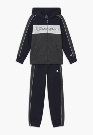 LEGACY HOODED FULL ZIP SUIT SET - Tracksuit - dark blue
