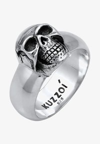 KUZZOI - TOTENKOPF - Ring - silver-coloured - 2