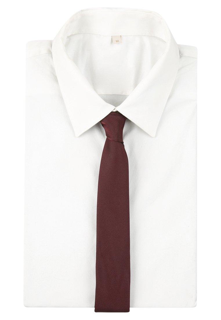 Seidensticker Krawat - Dunkelrot