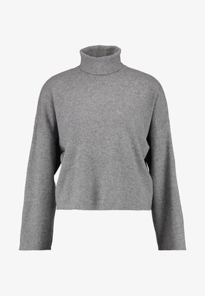 NMSHIP ROLL NECK - Svetr - medium grey melange