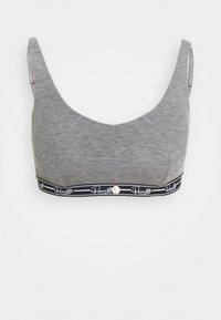 CROP TOP - Bustier - grey