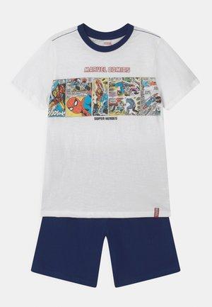 Pyjama set - white/blue