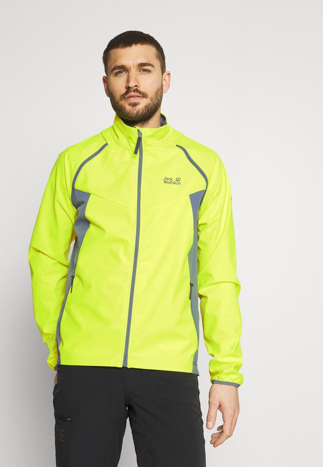 TANDEM - Soft shell jacket - yellow