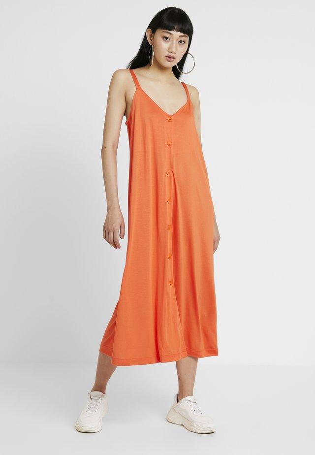 PRUE DRESS - Maxi dress - orange