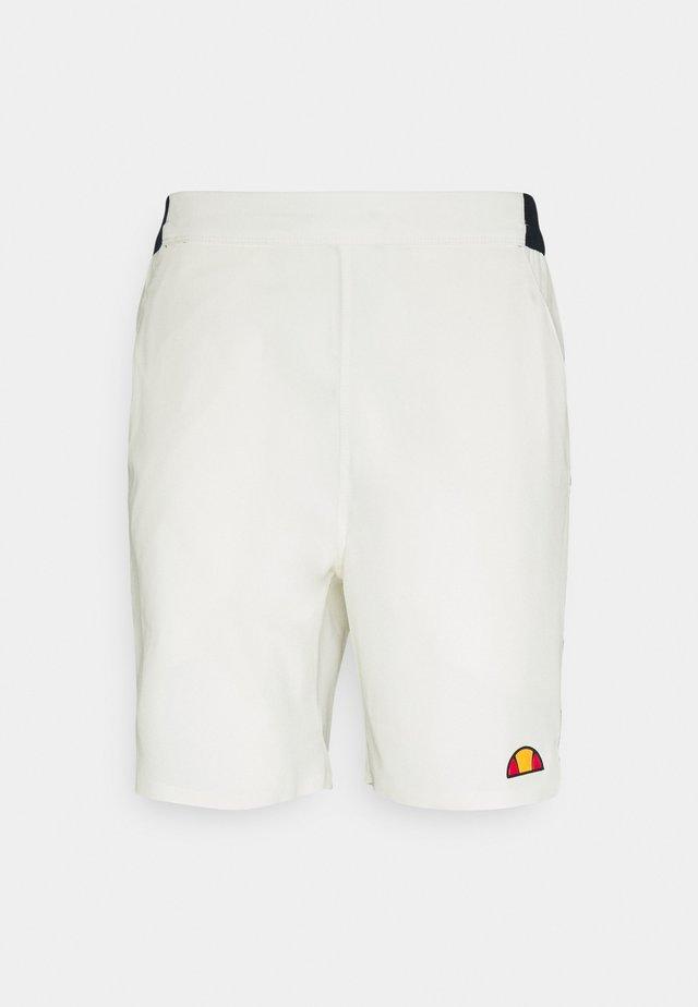 PIZZANO SHORT - Urheilushortsit - off white