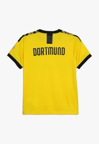 Puma - BVB BORUSSIA DORTMUND HOME REPLICA WITH EVONIK LOGO - Club wear - cyber yellow/black - 1