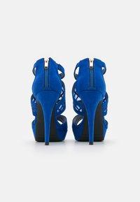 Anna Field - COMFORT - Sandaler med høye hæler - blue - 3