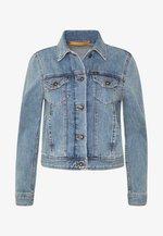 NEST - Džínová bunda - light blue