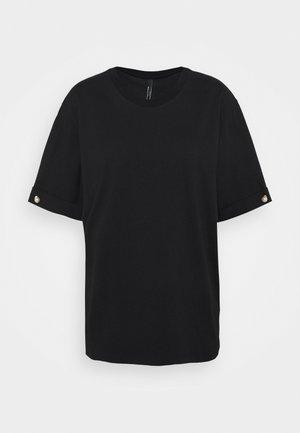 PEARL BAR SLEEVE - T-shirt basic - black