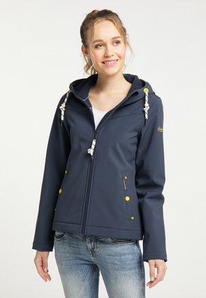 Soft shell jacket - marine