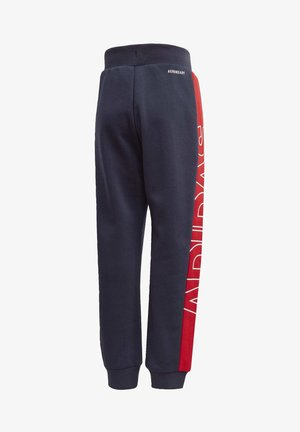 KNIT JOGGERS - Tracksuit bottoms - blue