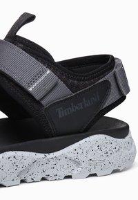 Timberland - RIPCORD - Walking sandals - black - 5