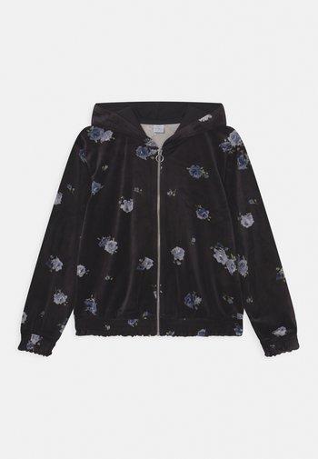 VIVIAN - Zip-up sweatshirt - black