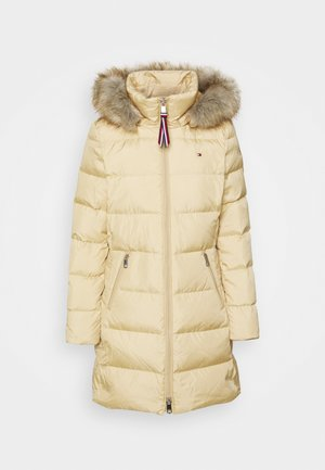 BAFFLE COAT - Piumino - yellow stone