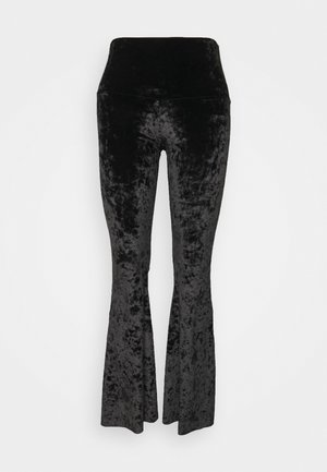 BELL PANT - Trousers - black