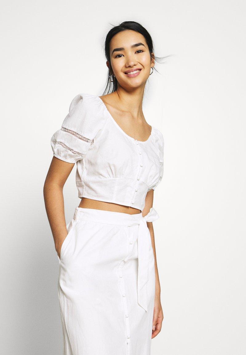 Fashion Union - CAPOTE - Blouse - white
