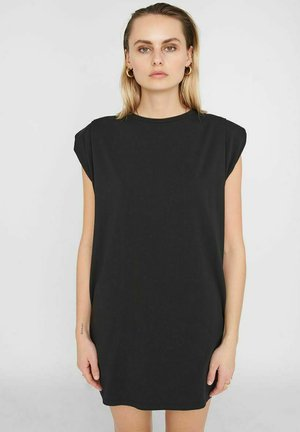 NMMINNA PADDED DRESS - Jerseyjurk - black