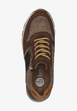 Sneakersy niskie - mittelbraun