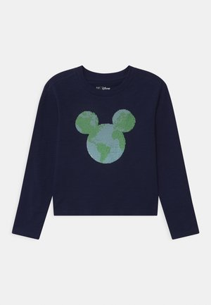 GIRL MINNIE MOUSE - Long sleeved top - navy uniform