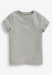Next - 3 PACK - Basic T-shirt - white/burnt orange denim/grey - 4