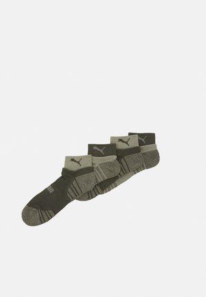 MEN SEASONAL QUARTER 4 PACK - Sportovní ponožky - green
