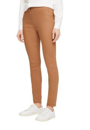Leggings - Trousers - tobacco