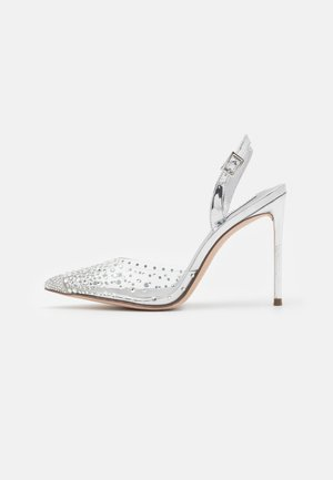 RECORD - High Heel Pumps - silver