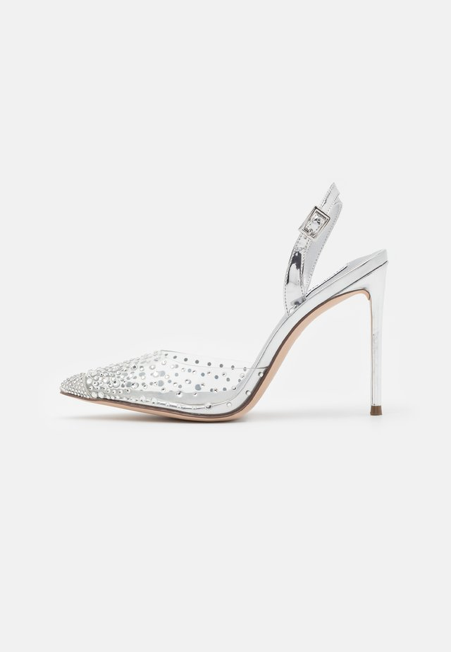 RECORD - High heels - silver