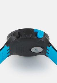 Swatch - RACING POWER - Chronograph watch - black/blue - 2