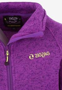 ZIGZAG - Fleece jacket - purple - 2