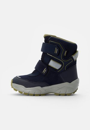 CULUSUK - Winter boots - blau/grün