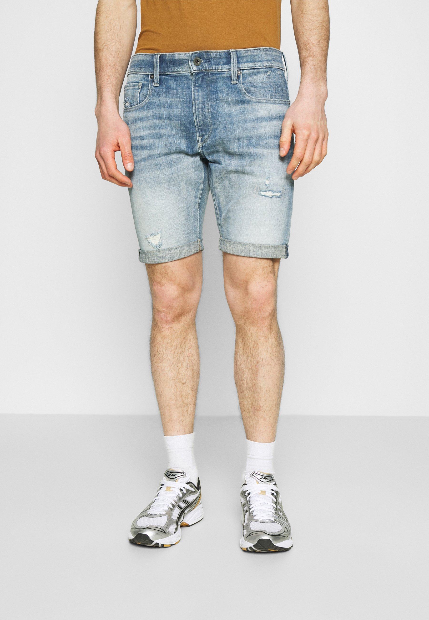Herren 3301 SLIM SHORT - Jeans Shorts