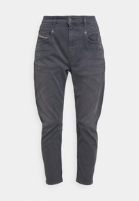 Diesel - FAYZA - Relaxed fit jeans - grey blue - 4
