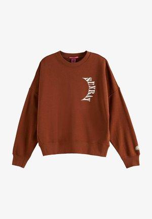 Sweatshirt - sienna