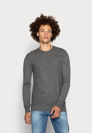 TRITON - Jumper - medium grey melange