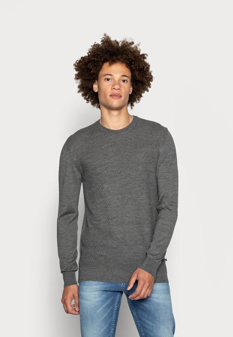 Matinique - TRITON - Jumper - medium grey melange