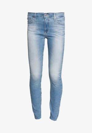 FARRAH ANKLE - Jeansy Skinny Fit - blue denim