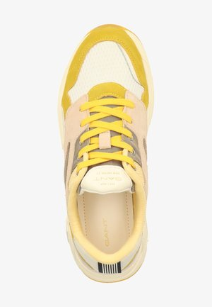 Sneakers laag - yellow/beige