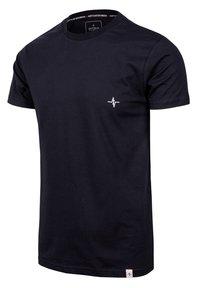 Spitzbub - HEARTBEAT - Basic T-shirt - schwarz - 1