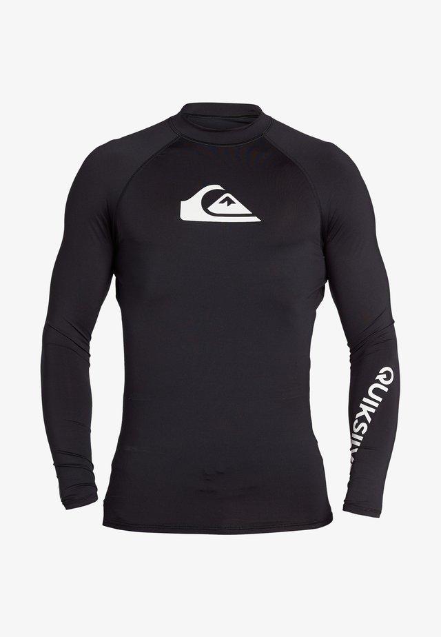 MIT UPF 50 FÜR MÄN - Surfshirt - black