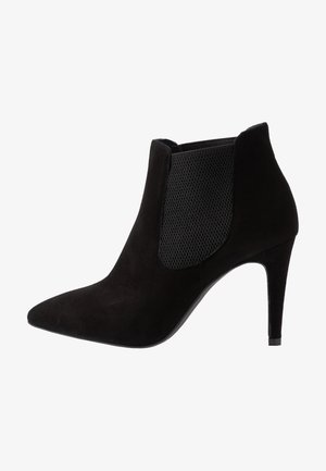 WIDE FIT DIANBO - High heeled ankle boots - black