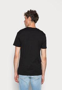 G-Star - GRAPHIC LOGO - T-shirt con stampa - dark black - 2