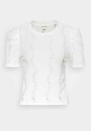 VIVI TOP - Basic T-shirt - white