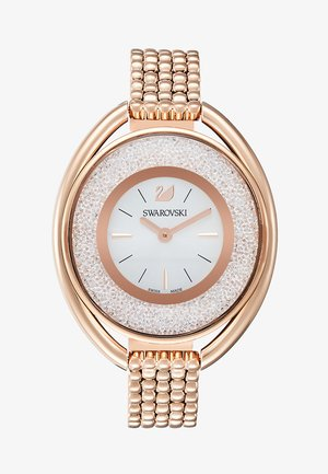 OVAL  - Uhr - rosegold-coloured