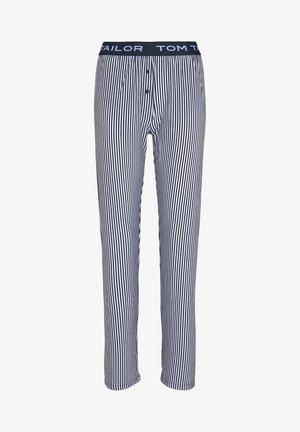 Pantaloni del pigiama - blue stripes