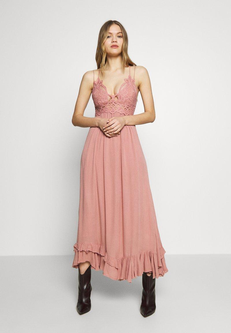 Free People - ADELLA SLIP - Maxi dress - light pink