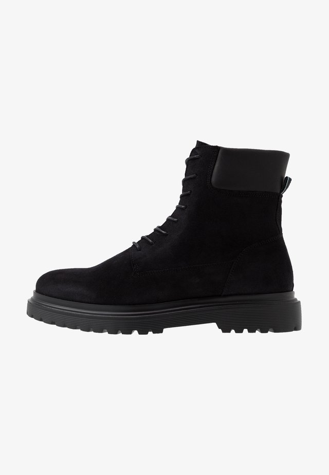 HEARD - Lace-up ankle boots - black