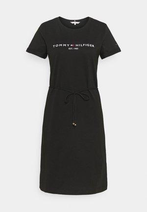 COOL HILFIGERDRESS  - Jersey dress - black