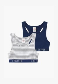 s.Oliver - STRIPED 2 PACK - Korzet - royal blue - 0